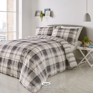 Balmoral Duvet Cover Set Grey - Yorkshire Linen Beds & More Bed Shops Mijas Costa Marbella P01