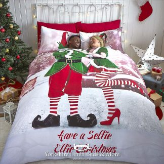 Elfie Selfie Duvet Cover Set - Yorkshire Linen Beds & More Bed Shops Mijas Costa Marbella P01