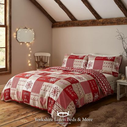 Let it Snow Duvet Cover Set - Yorkshire Linen Beds & More Bed Shops Mijas Costa Marbella P01