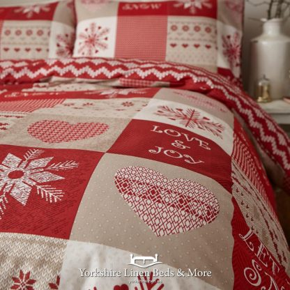 Let it Snow Duvet Cover Set - Yorkshire Linen Beds & More Bed Shops Mijas Costa Marbella P02