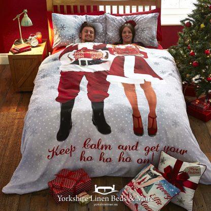 Santa Selfie Duvet Cover Set - Yorkshire Linen Beds & More Bed Shops Mijas Costa Marbella P01