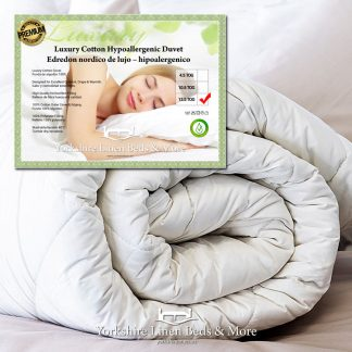 Premium Cotton Anti-Allergy Duvet 13 5 TOG - Yorkshire Linen Beds & More Bed and Linen Shops Mijas Costa Marbella P01