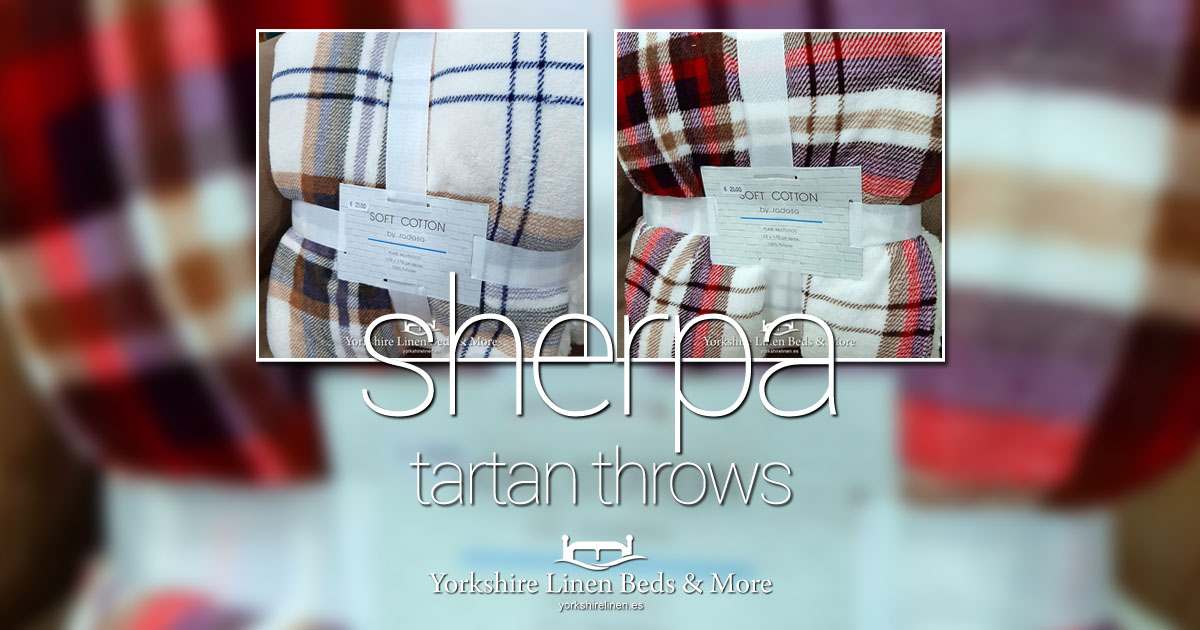 Sherpa Tartan Throws