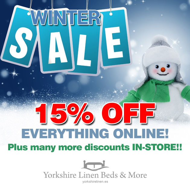 Winter Sales at Yorkshire Linen Beds & More!