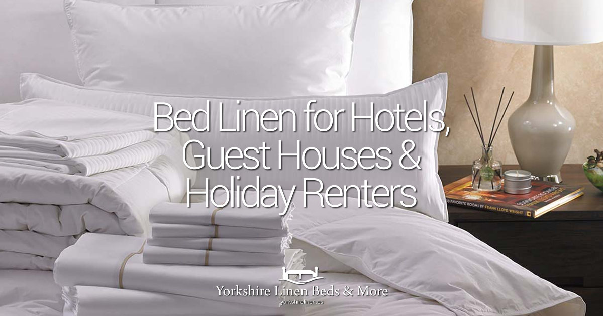 Bed Linen for Hotels, Guest Houses and Holiday Apartment Renters OG02