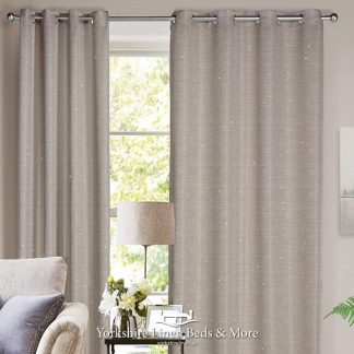 Sparkly Ringtop Curtain Panel