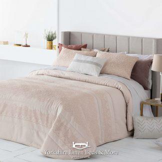 Dora Nude Bedspread - Yorkshire Linen Beds & More Fuengirola Marbella Spain P01