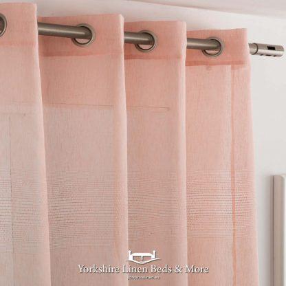 Indian Ringtop Voile Panel Nude - Yorkshire Linen Beds & More Fuengirola Marbella Spain P01