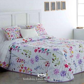 Martha Multicolour Lightweight Bedspread - Yorkshire Linen Beds & More