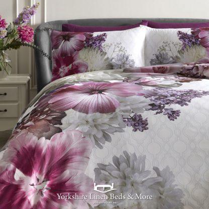 Mayfair Lady 100% Cotton Duvet Cover Set Laurence Llewelyn-Bowen - Yorkshire Linen Beds & More