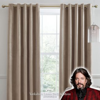 Montrose Blackout Curtains Linen Laurence Llewelyn-Bowen Yorkshire Linen Beds & More P01