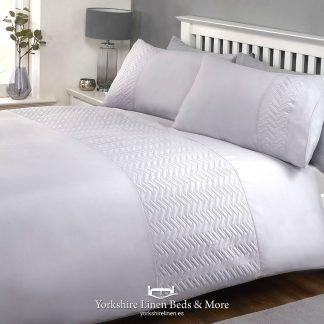 Pardo Silver Promo Duvet Cover Set - Yorkshire Linen Beds & More P01