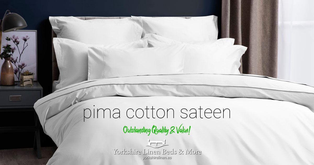 Pima Cotton Sateen 450TC Range - Yorkshire Linen Beds & More OG01