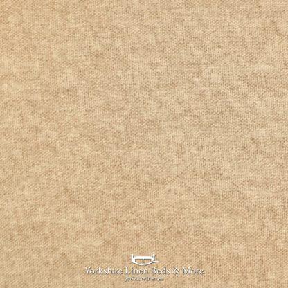 Dillon Blackout Pencil Pleat Curtains Natural - Yorkshire Linen Beds & More P02
