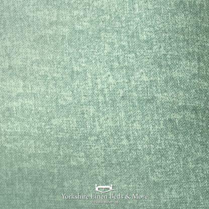 Dillon Pencil Pleat Blackout Curtains Duck Egg - Yorkshire Linen Beds & More P02