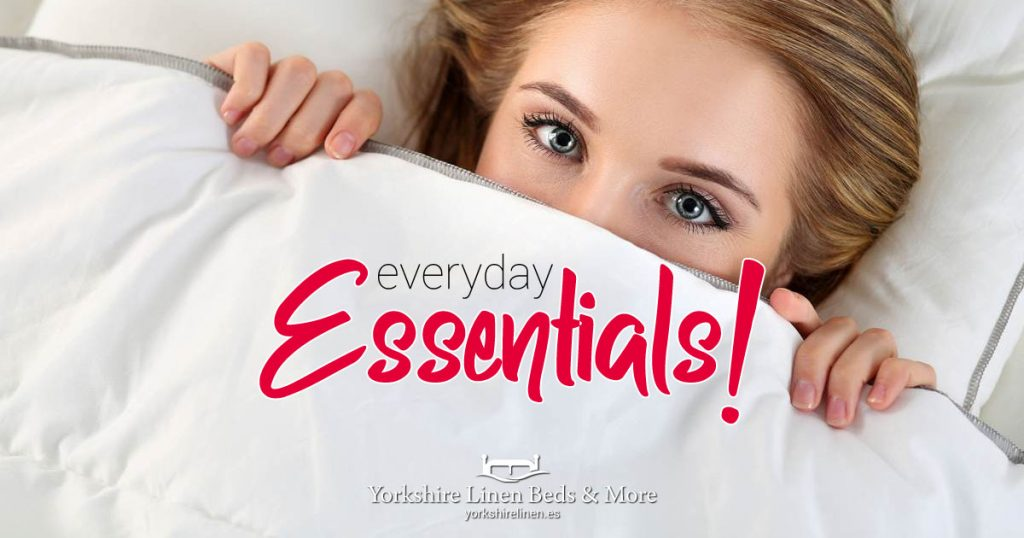 Everyday Essentials! Every day items at great prices!  Yorkshire Linen Beds & More.