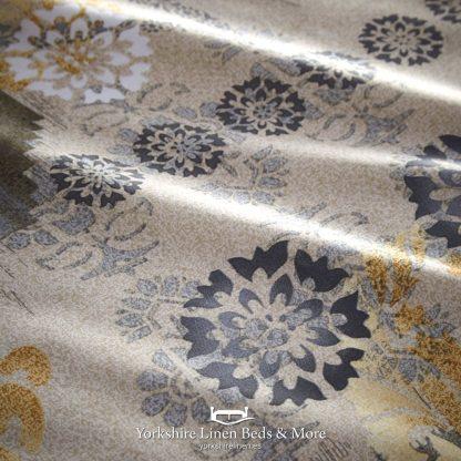 Balay Ochre Duvet Cover Set - Yorkshire Linen Beds & More P02