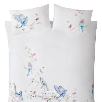 Spring Birds 100pc Cotton Duvet Cover Set - Yorkshire Linen Beds & More P023