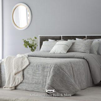 Combo Luxury Grey Bedspread Yorkshire Linen Beds & More
