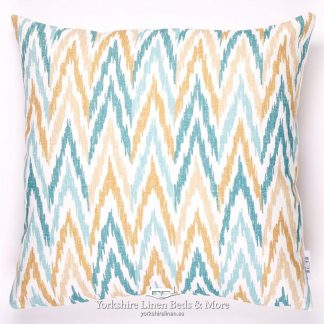 Fish & Fauna Zig Zag Cushions - Yorkshire Linen Beds & More P01