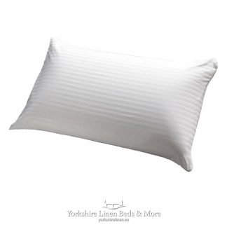 Super Silky Pillow with Removable Cover Yorkshire Linen Beds & More P01
