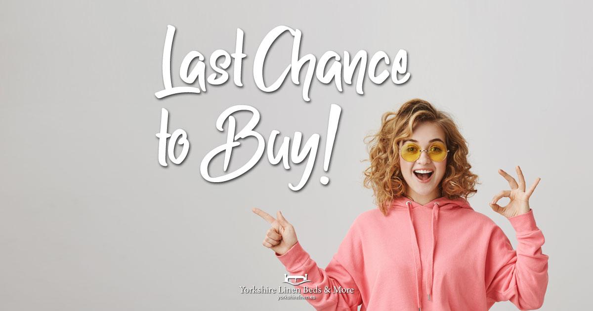 Last Chance to Buy - End of Line Bargains Yorkshire Linen Beds & More OG01