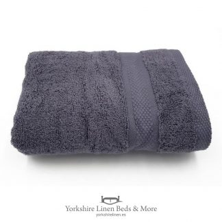 550gsm Wonder Dry 100pc Cotton Towels Charcoal - Yorkshire Linen Beds & More P01