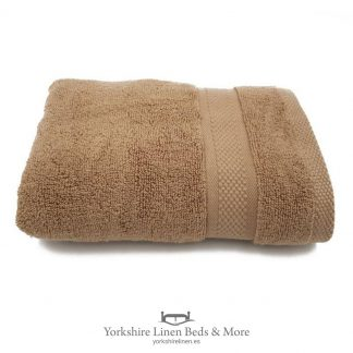 550gsm Wonder Dry 100pc Cotton Towels Chocolate - Yorkshire Linen Beds & More P01