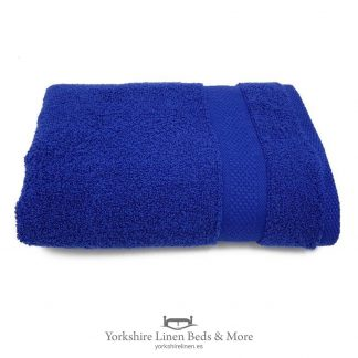 550gsm Wonder Dry 100pc Cotton Towels Navy Blue - Yorkshire Linen Beds & More P01