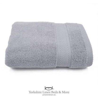 550gsm Wonder Dry 100pc Cotton Towels Silver - Yorkshire Linen Beds & More P01
