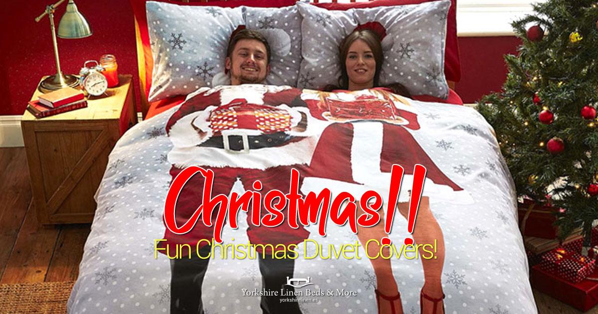Christmas Duvet Covers Back in Stock - Yorkshire Linen Beds & More OG01