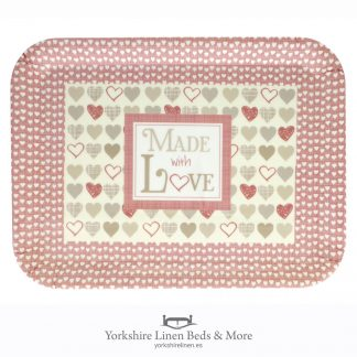 Assorted Melamine Lap Trays Assorted Designs - Yorkshire Linen Beds & More
