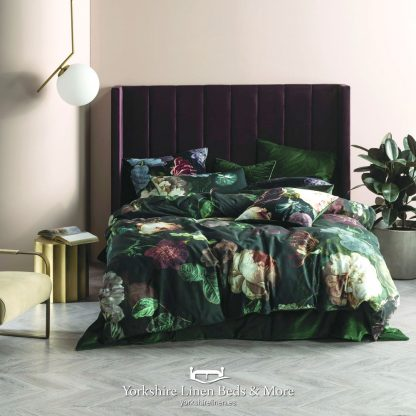 Winnie 100% Cotton Duvet Cover Set Multi - Yorkshire Linen Beds & More P01