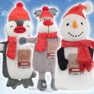Winter Friends Hot Water Bottle Assorted Designs P04