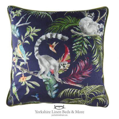 Funky Lemur Cushion - Yorkshire Linen Beds & More P01
