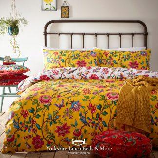 Grapefruit Yellow Duvet Cover Set - Yorkshire Linen Beds & More