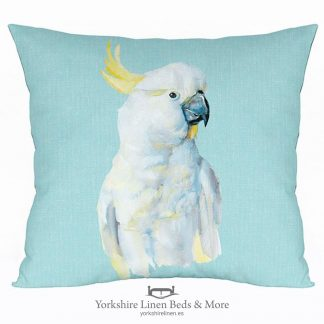 Cock-a-Blue Cushion - Yorkshire Linen Beds & More