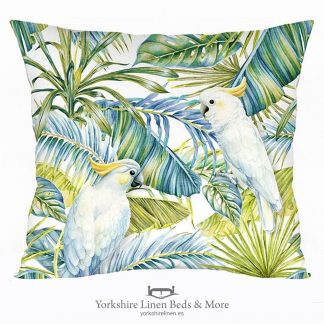 Cock a Blue Two Cushion - Yorkshire Linen Beds & More