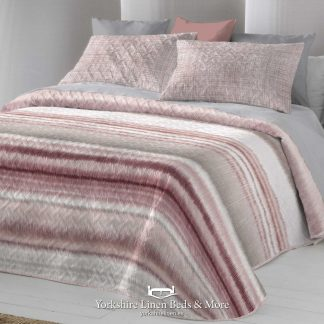 Iris Bedspread Nude Blush - Yorkshire Linen Beds & More