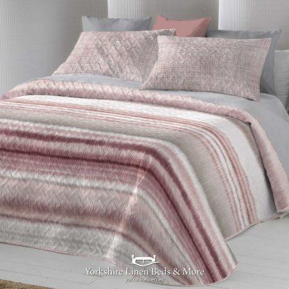Iris Bedspread Nude Blush - Yorkshire Linen Beds & More