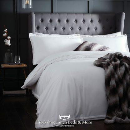 Alden 100pc Cotton Duvet Cover Set Linen - Yorkshire Linen Beds & More P01
