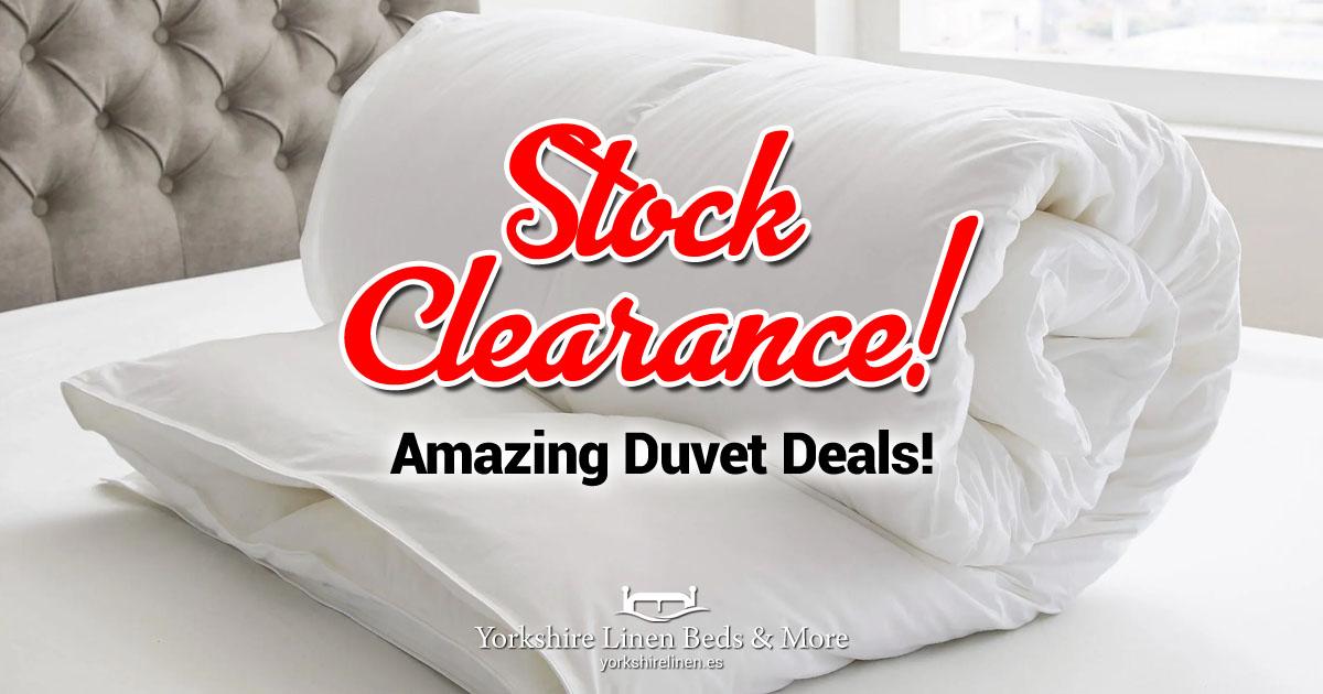 Amazing Duvet Deals from Yorkshire Linen Beds & More OG03