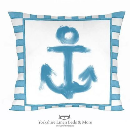 Anchors Away Cushion Cover - Yorkshire Linen Beds & More