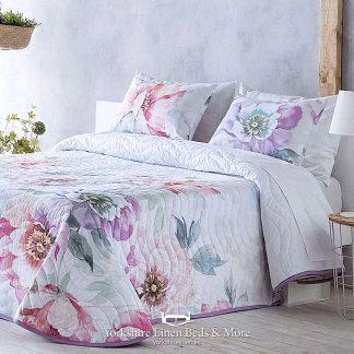 Silvia Bedspread, Multi Colour - Bedspread Design Ideas - Yorkshire Linen Beds & More