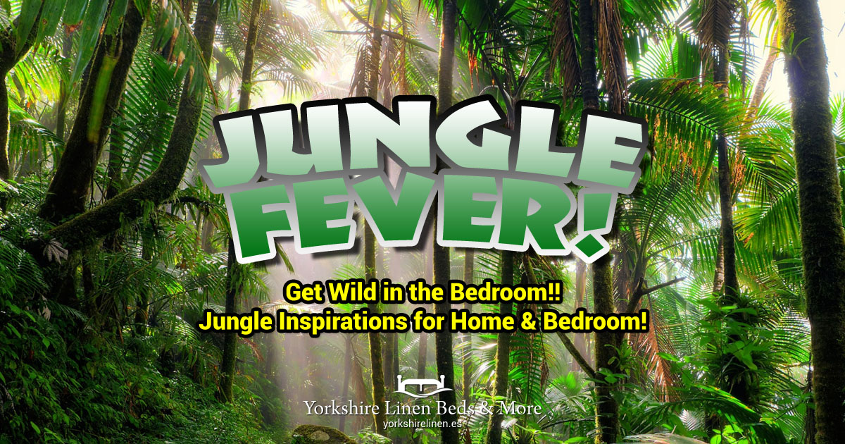 Jungle Fever - Tropical, Exotic Bed Linen, Cushions & Curtains