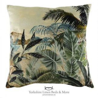Kibale Leaf Cushion - Cushions & Cusion Covers - Yorkshire Linen Beds & More