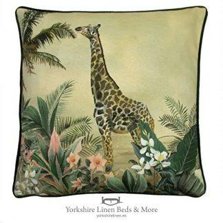 Manyara 45cm Giraffe Cushion - Cushions & Cusion Covers - Yorkshire Linen Beds & More