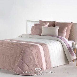 Rosa Quilted Bedspread, Blush Pink - Bedspread Design Ideas - Yorkshire Linen Beds & More