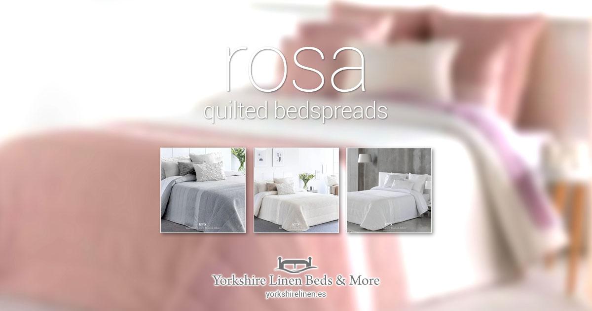 Rosa Quilted Bedspreads - Bedspread Design Ideas - Yorkshire Linen Beds & More 2