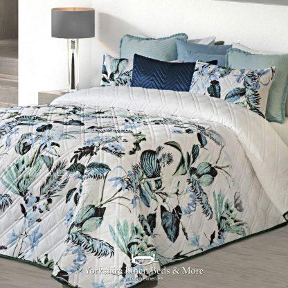 Savannah Tropical Bedspread Multi - Quality Bedspread Design Ideas - Yorkshire Linen Beds & More